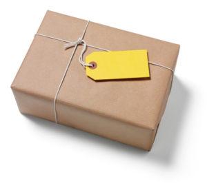 Envoi colis à l'étranger