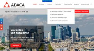 Abaca Assurances - Refonte de site web 75