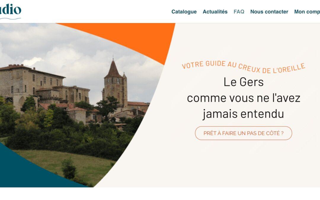 Baludio.fr, site de visites audio guidées